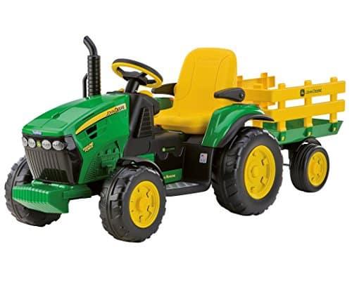 Tracteur Peg Perego - Avis & Comparatif de ces tracteurs électriques pour enfant