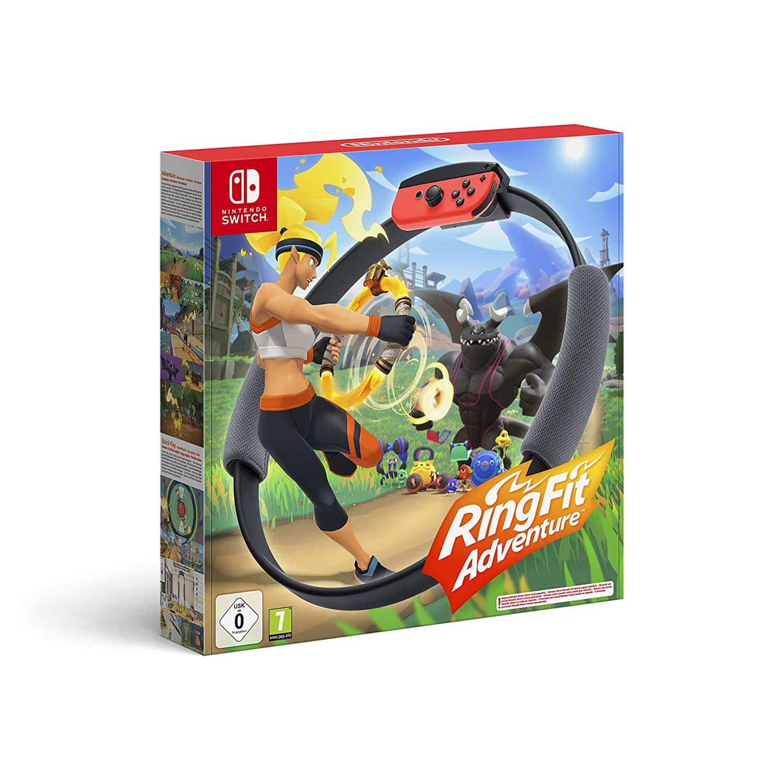 Jeu Ring Fit Adventure – Pour les sportifs sur Nintendo Switch – Avis & Test