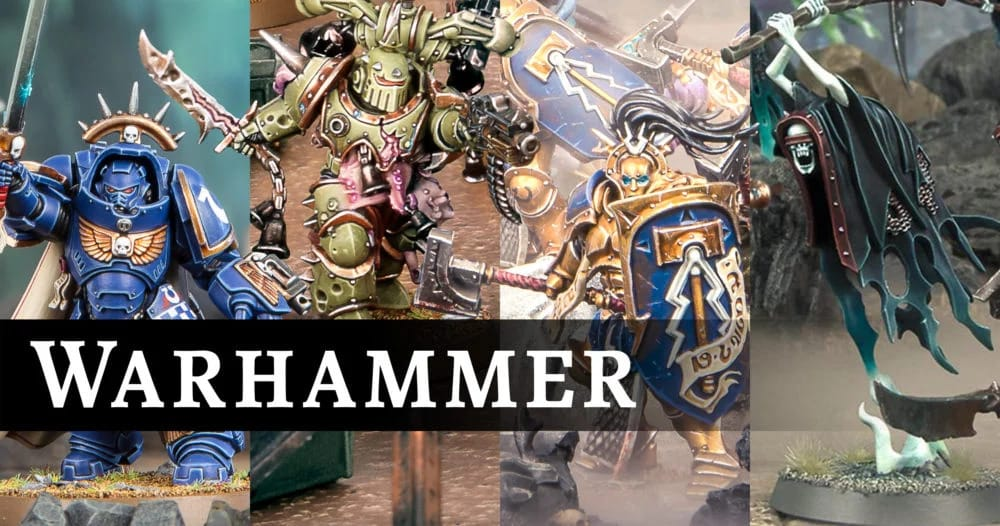 Bon plan : Figurines Warhammer 40 000 de Games Workshop jusqu'à -25 %game