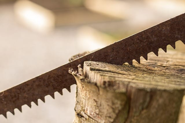 Comment bien scier du bois ?