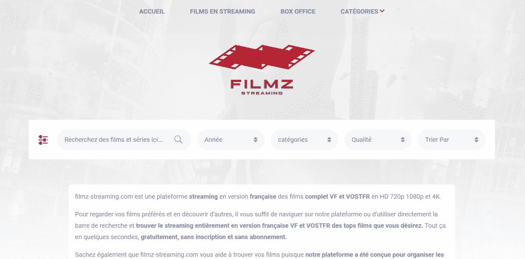 Page webstreaming filmz