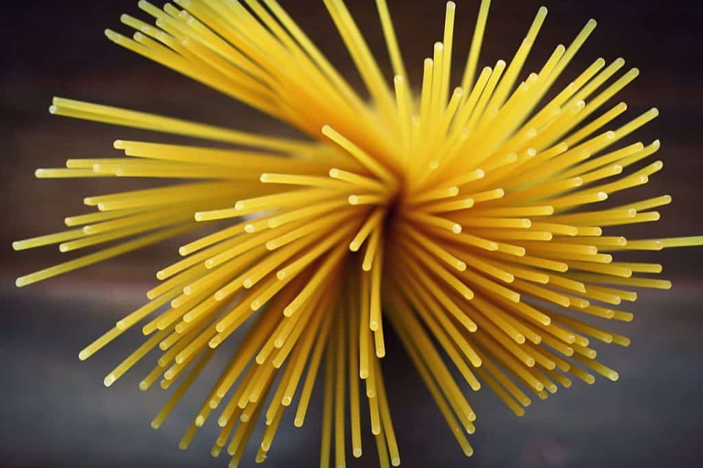 Spaghetti, pâtes longues