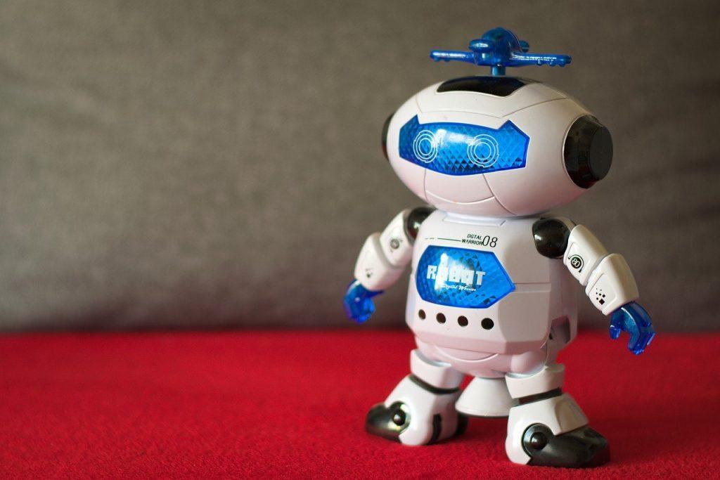 Petit robot électronique, jouet pour enfant